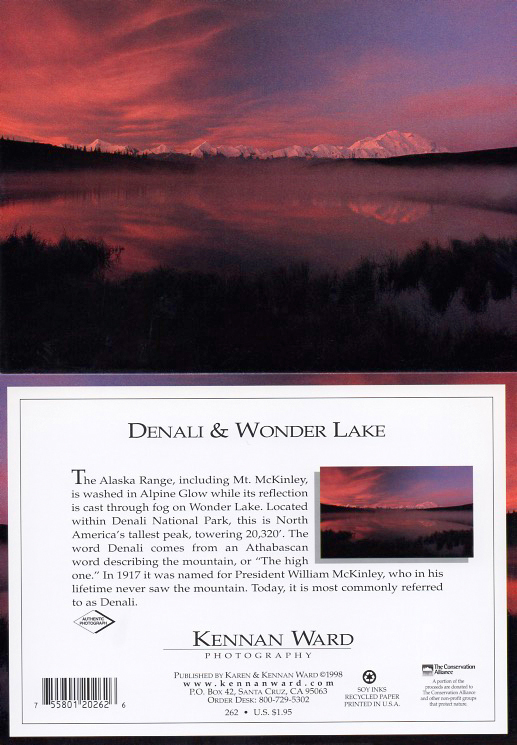 262 Denali Wonder Lake